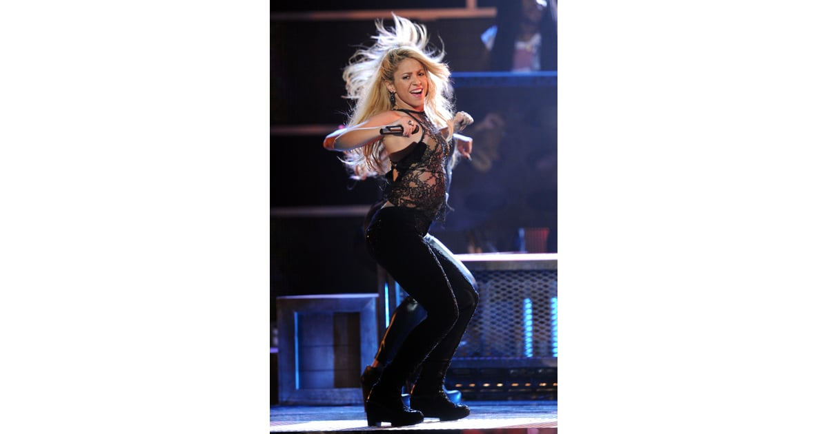 Shakira Busted Out Her Signature Dance Moves On Stage  Pictures Of The 2011 Latin -6725