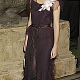 Emma looks much more grown up in 2004 at Harry Potter And The Prisoner Of Azkaban after party at the National History Museum.