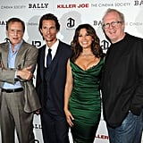 Matthew McConaughey got together with William Friedkin, Gina Gershon, and Tracy Letts at a screening of Killer Joe.