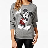 Mickey Mouse Sequin Graphic Sweatshirt