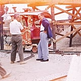 The man himself — Walt Disney — was caught on film here.