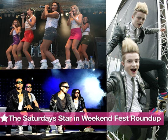 Pictures of The Saturdays, JLS, Diana Vickers, Olly Murs, Jedward and More Performing at Twenty Ten Live & Isle of Man Festival