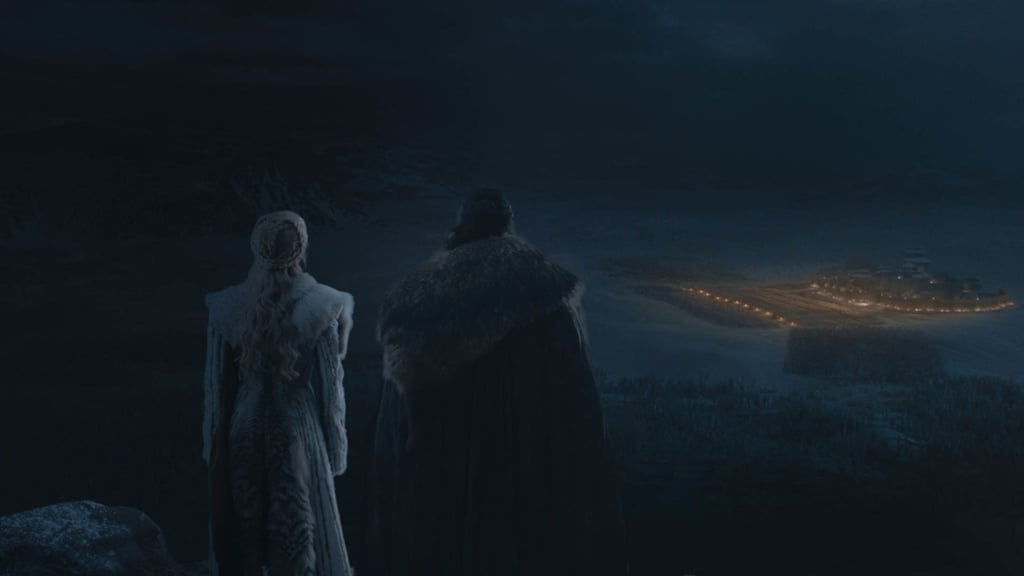 Game of Thrones Brightened Battle of Winterfell Scenes
