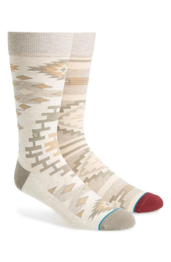 ASOS Glitter Sheer Stripe Sock ($5, originally $7)