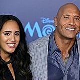 Dwayne Johnson and His Daughter Simone's Cutest Pictures