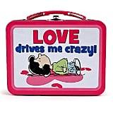 Love Drives Me Crazy Tin Lunchbox