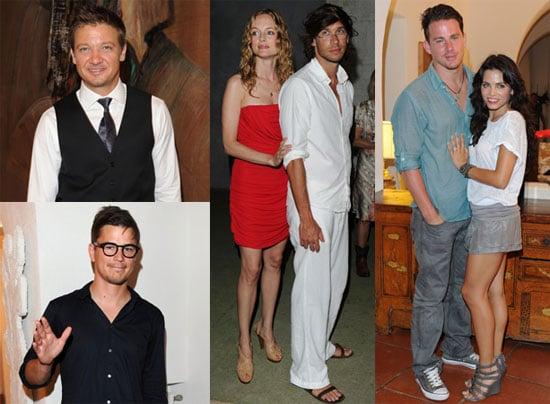 Pictures of Channing Tatum, Jenna Dewan, Jeremy Renner