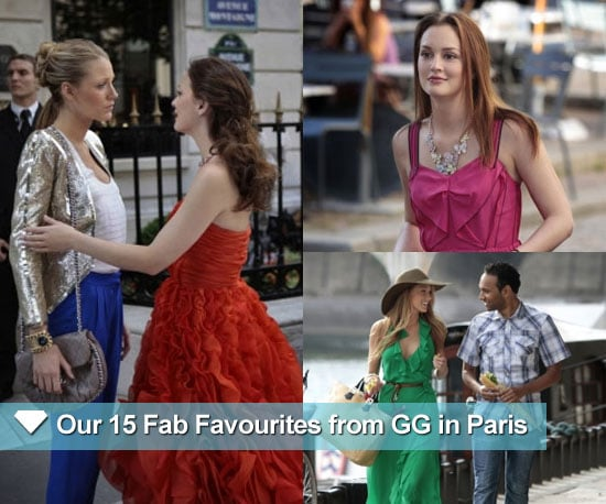 Pictures From Gossip Girl Season Four in Paris