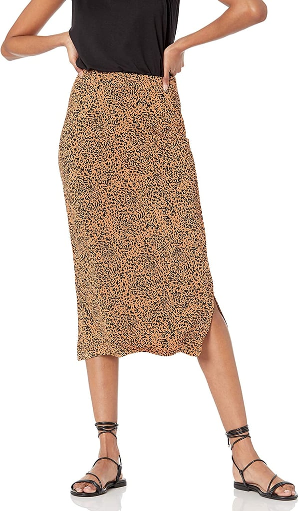 For an Everyday Style: Amazon Essentials Pull on Knit Midi Skirt