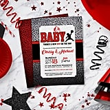 Air Jordan Baby Shower Invitations