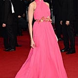 Freida Pinto looked lovely in a pink gown.