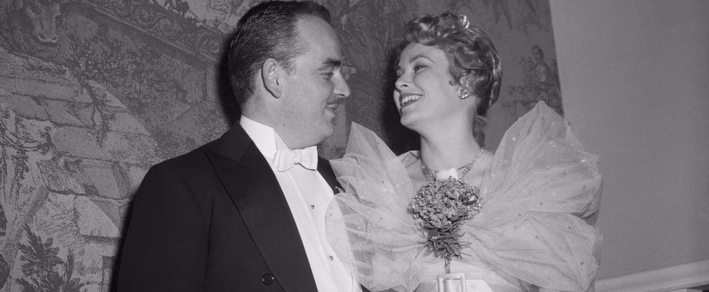 Photos de Grace Kelly et du Prince Rainier III