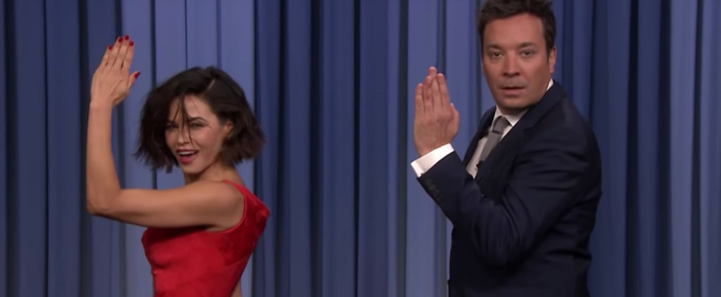 Jenna Dewan Rhythm Nation Dance on Tonight Show Video 2018