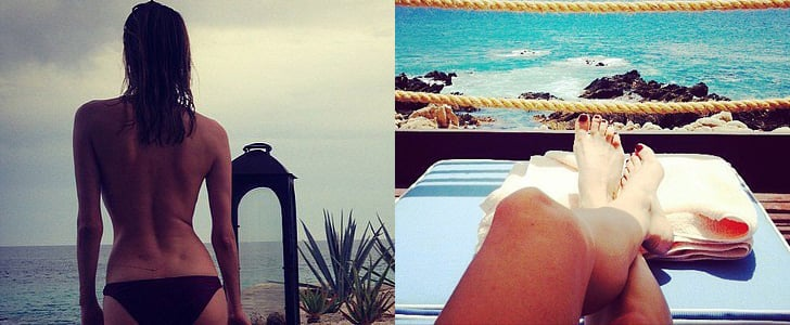 Diane Kruger Shares Vacation Photos on Instagram