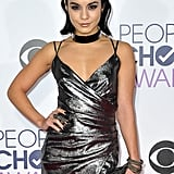 Vanessa Hudgens's dress for the 2016 People's Choice Awards was beyond glam, but the addition of her statement-making choker made this red carpet ensemble one to remember.