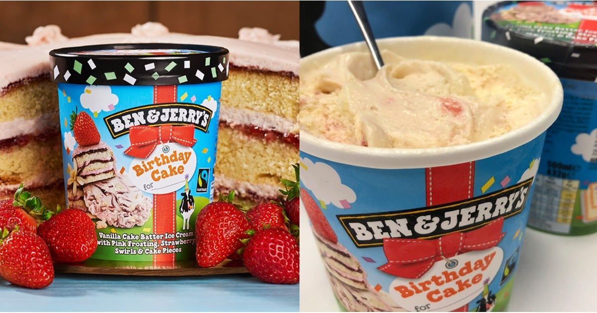 Ben Jerrys Birthday Cake Flavour Review POPSUGAR UK Food