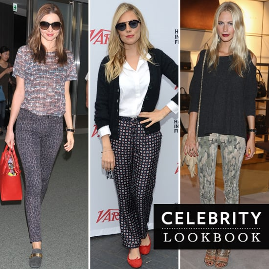 Celebrities In Printed Pants - WordPress.com