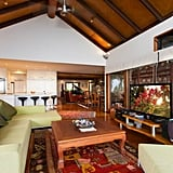 The Balinese styling runs throughout the property.
