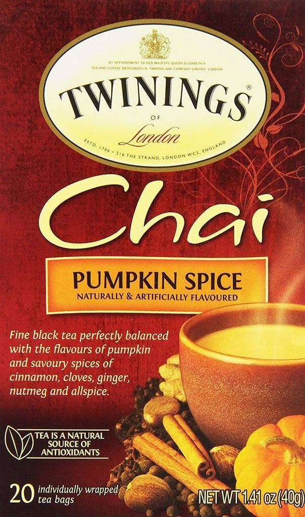 Twinings of London Pumpkin Spice Chai Tea Bags