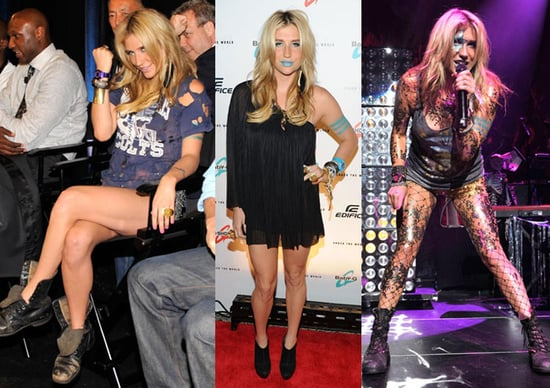 Ke$ha at 2010 Casio Shock the World Event in NYC