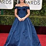Gina Rodriguez at the Golden Globe Awards