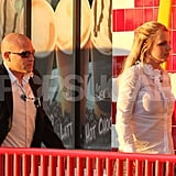 Britney Spears Breaks For Burgers With Her Boys While Kanye West Wishes Her Well