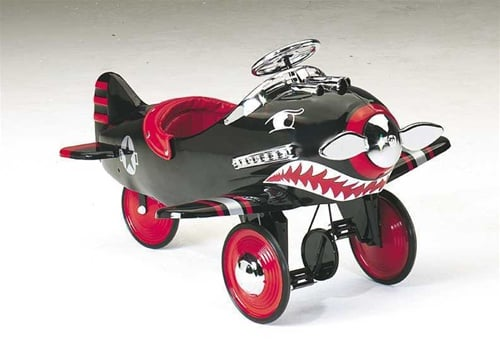 Airflow Collectibles Shark Attack Pedal Plane