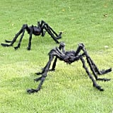 Giant Spooky Hairy Spiders, 2-Pack