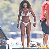 Mel B Bikini Vacation Pictures June 2016