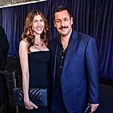 Jackie and Adam Sandler at the 2020 Spirit Awards