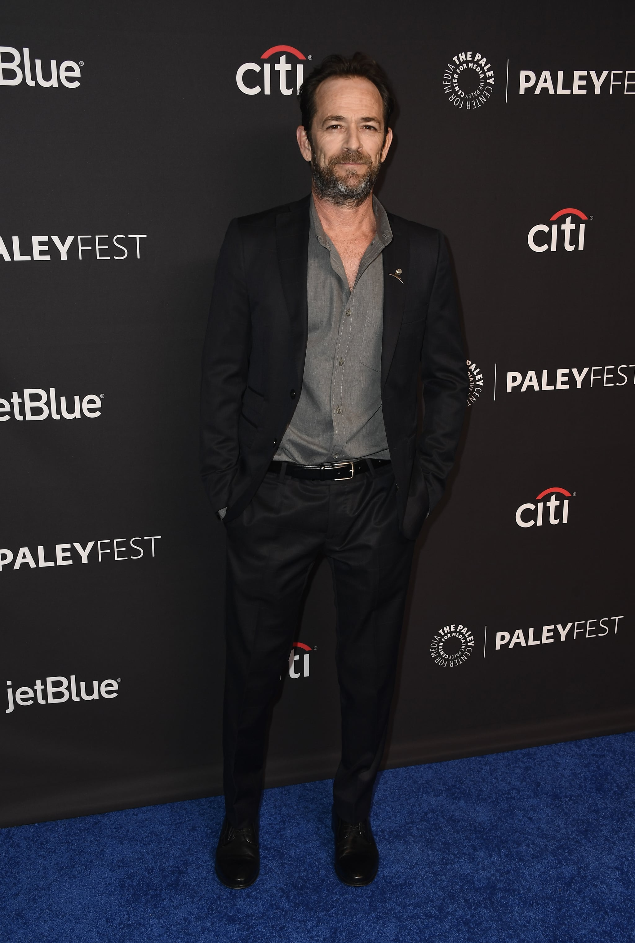 HOLLYWOOD, CA - MARCH 25:  Luke Perry attends The Paley Centre For Media's 35th Annual PaleyFest Los Angeles -