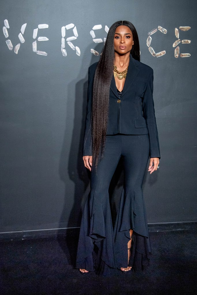 Ciara Wore a Striking Pantsuit