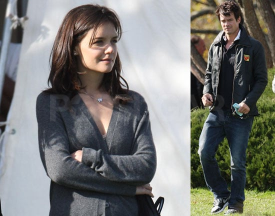 Photos Of Katie Holmes And Josh Duhamel On The Set Of The