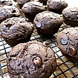 Double Chocolate Zucchini Protein Muffins