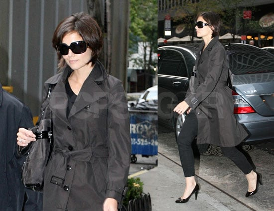 Katie Holmes Dresses Black and Black for NYC