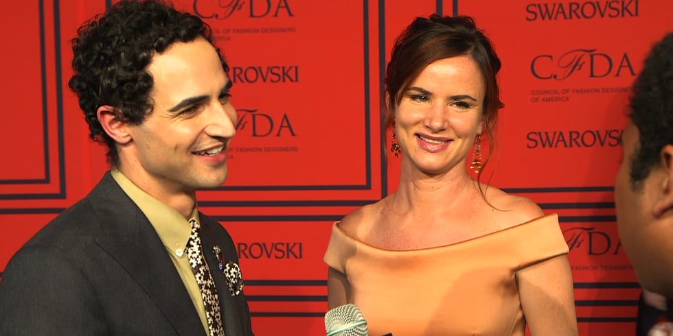 Zac Posen and Juliette Lewis Share CFDA Memories