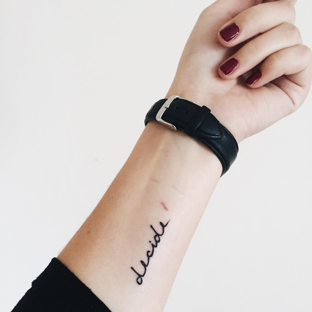 86ccba7f58ff2 One Word Tattoos | POPSUGAR Smart Living