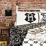 ​Double Duvet Cover ($26), Throw ($8), Crest Cushion ($8), Hedwig Cushion ($10)