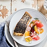 Crispy Skinned Barramundi With Citrus Fennel Salsa