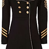 History Repeats Military Coat ($830)