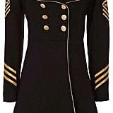 History Repeats Military Coat ($830)