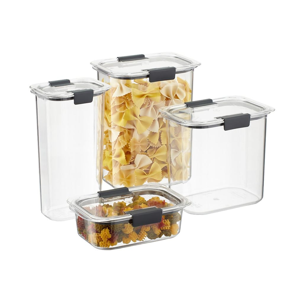 Rubbermaid Brilliance Pantry Set of Eight