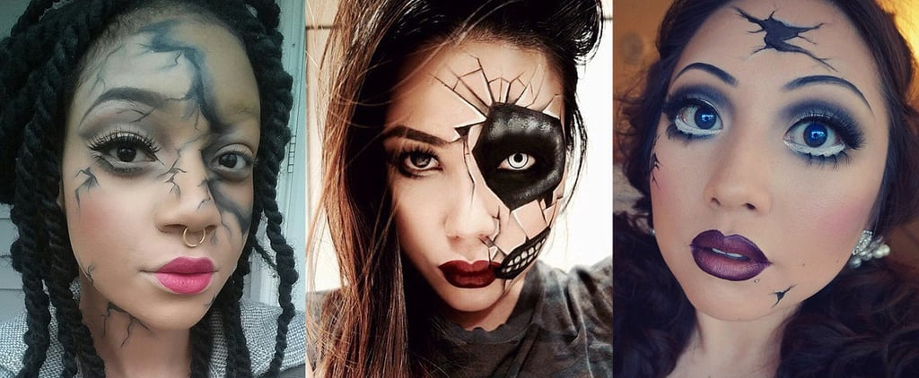 Break the Costume Mold With These Creepy Cracked-Doll Looks