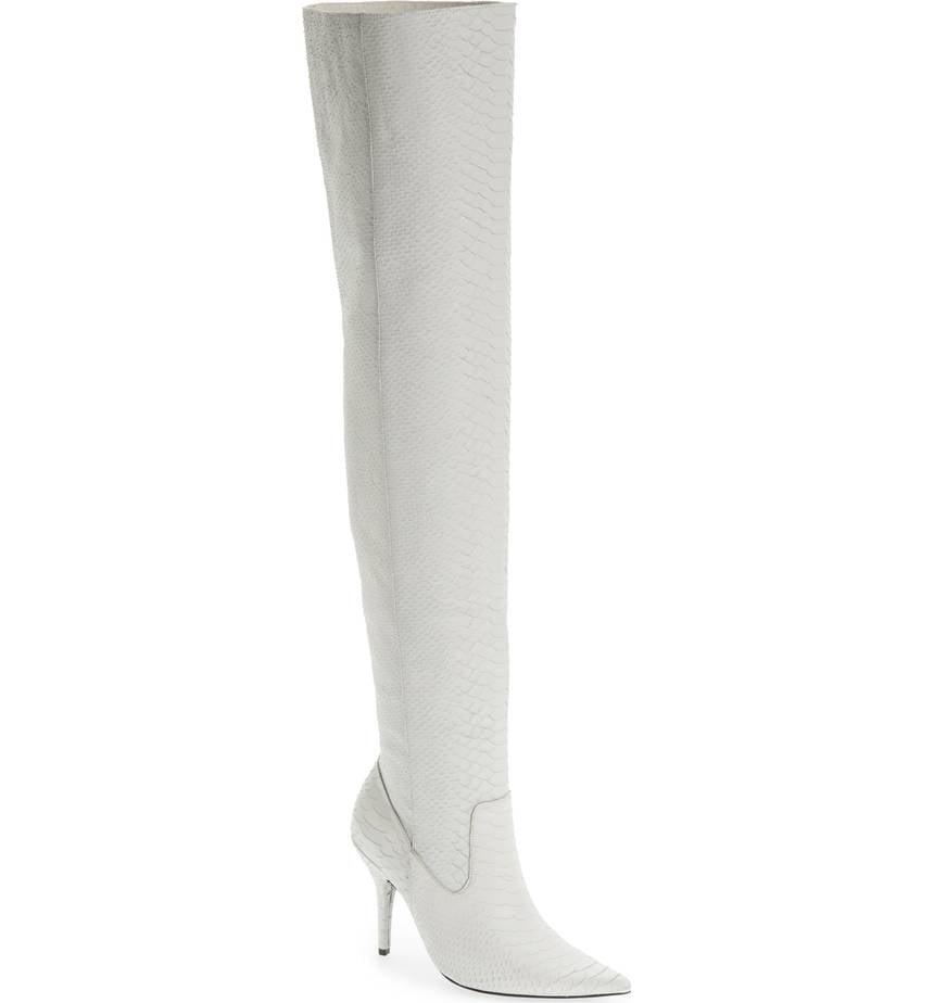 Jeffrey Campbell Women's Galactic Thigh High Boot