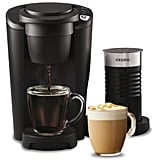 Keurig K-Latte Single Serve Black K-Cup Coffee & Latte Maker