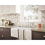 Glass Peel and Stick Mosaic Tile