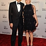 Stella McCartney and husband Alasdhair Willis at the NYC ballet.