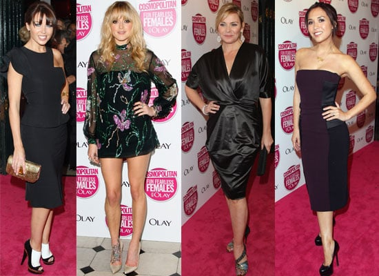 Photos From The 2008 Cosmopolitan Women Of The Year Awards In London, Fearne Cotton, Kim Cattrall, Myleene Klass, Dannii Minogue