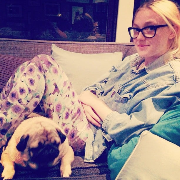 Elle Fanning spent some quality time with her sister, Dakota. Source: Instagram user elle_fanning