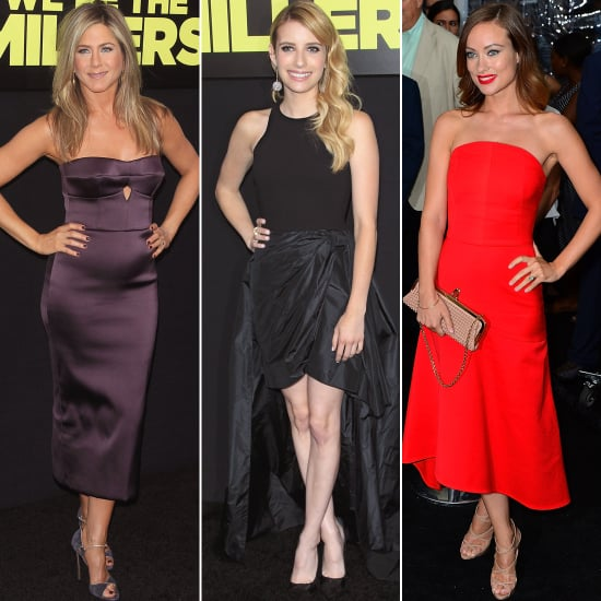We're the Millers Red Carpet Dresses